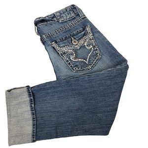 Big Star Cuffed Capri Jeans Size 26 Women's